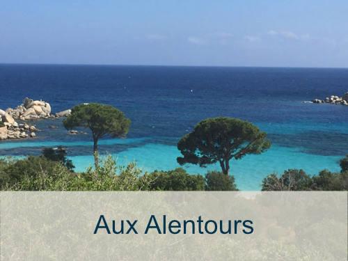 location maison avec piscine en Corse