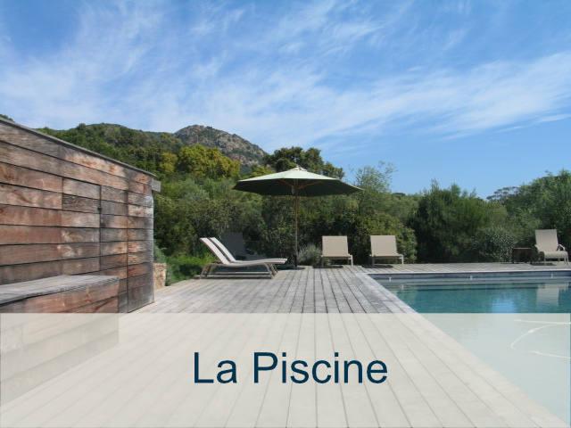villa avec piscine chauffée en Corse